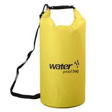 Yellow Green Factory Direct Sale Polyester ripstop waterproof dry bag