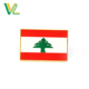 Custom design hot sales Die casting Lebanon National Flags for Gift 3D button Military clutch Pins