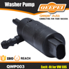 Windshield washer pump for VW EOS, 12V window pressure washer pump