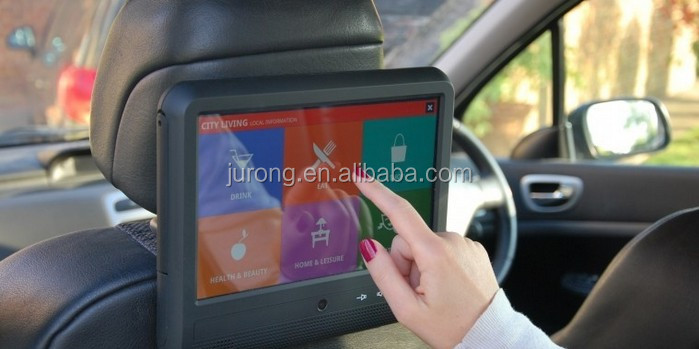 10.1 inch high quality android car headrest monitor