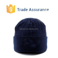 Custom Wholesale Plain Beanie Knit Ski Cap Skull Hat Warm Winter Running Blank Wool Beanie Hats