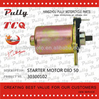 LOW NOISE DIO 50 MOTORCYCLE PARTS STARTER MOTOR