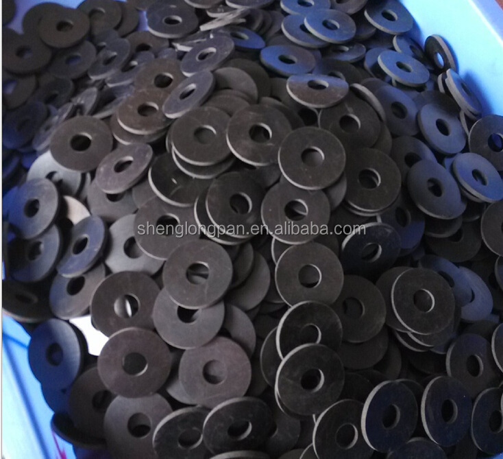 Round food-grade silicone rubber gasket