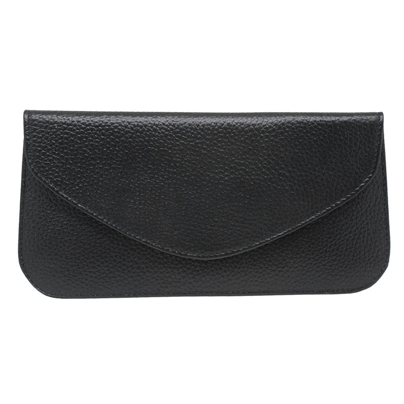 PU leather Rfid blocking cell phone pouch
