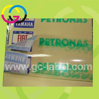 Professional manufacture OEM custom brand name logo self-adhesive label stickers