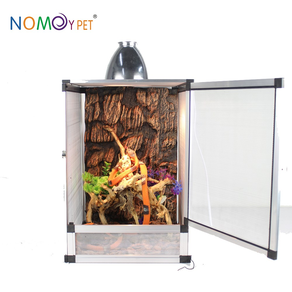 New design custom pet display aluminum terrarium reptile hot selling