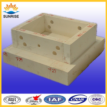 High quality refractory block for glass furnace throat,FUSED CAST AZS--33,36,41