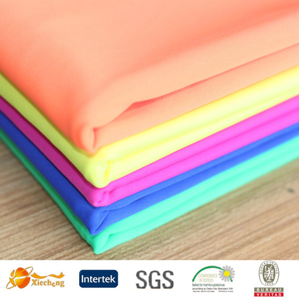 good color fastness polyamide elastine nylon spandex fabric swimwear fabric
