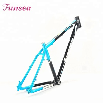 Wholesale price latest design alloy #7005 downhill bicycle frame mountain bike frame