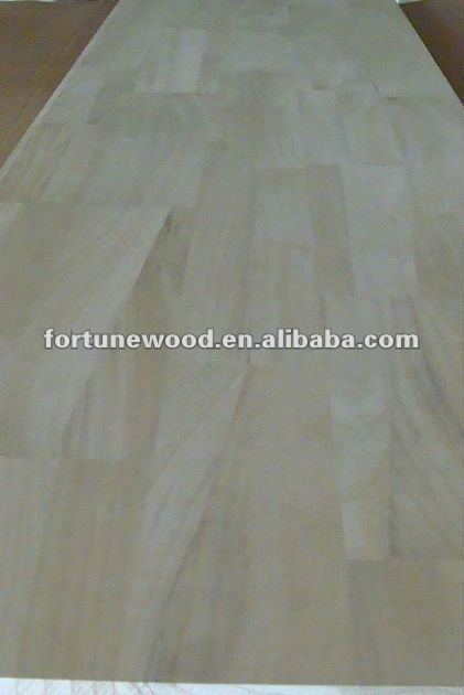 bleached paulownia finger jointed board