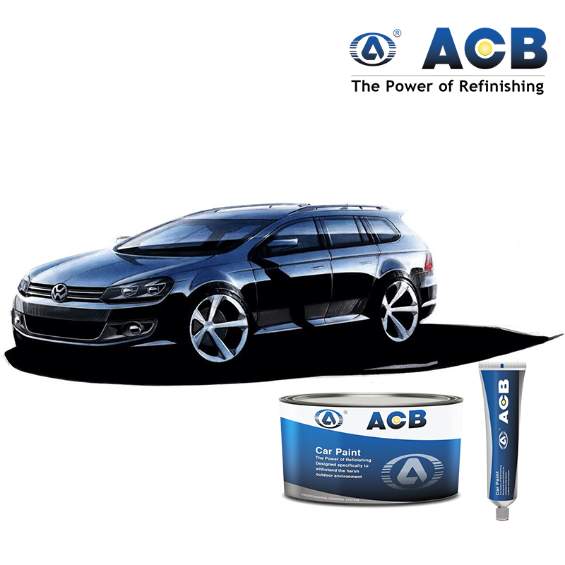 ACB good adhesion automotive paint supplies 1k basecoat