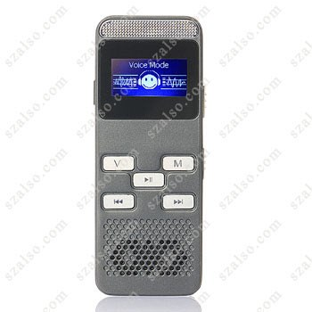 Record via external microphone Multilingual Pen Voice Recorder 8GB Can Work for 350 hours Recording Digital with MP3 SK-996