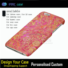 2017 new arrival golden luxury product flower custom design for iphone 6,for apple iphone 6 7plus phone