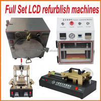 Fullset Mobilephone LCD Screen Repair Kit 5 in 1 Separator +Vacuum Laminator + Film Lamilating Machine+ OCA Bubble Remover