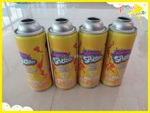 China manufacturer supply 400ml high pressure necked-in tinplate can for aerosol
