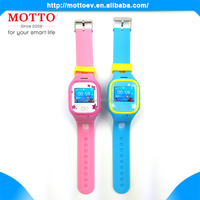 Fashion Anti-lost Smart Watch GPS Tracker SOS GSM Phone Call Monitor Kids/Ederly