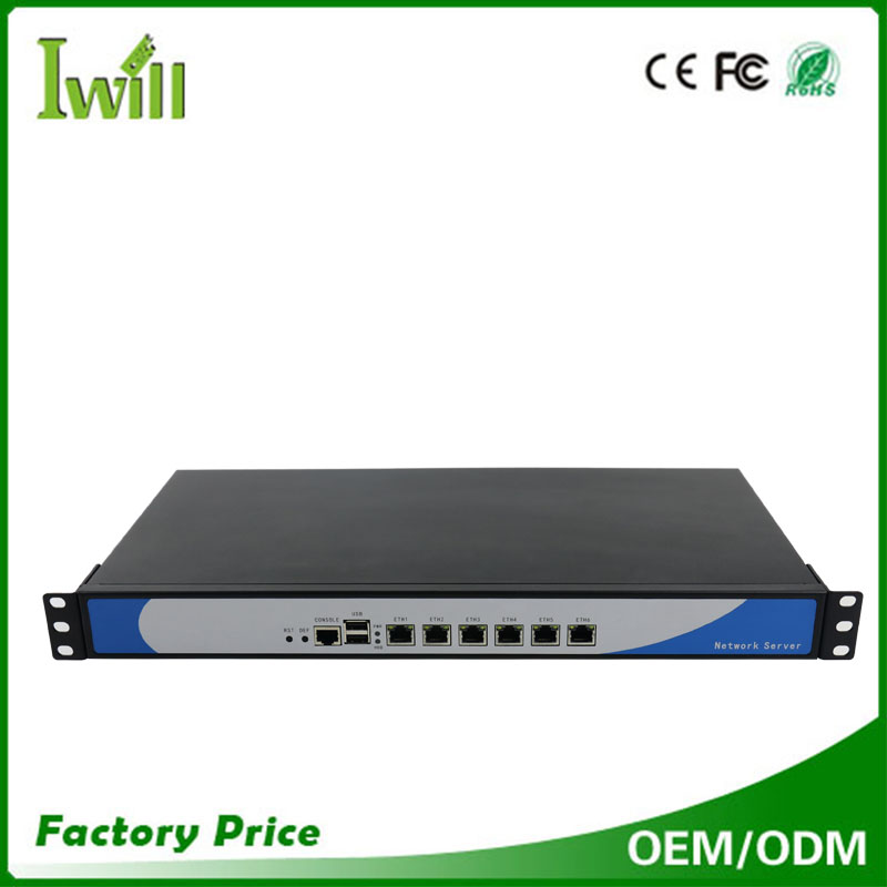 Wholesale computers Intel celeron 1037U dual core 1u rackmount chassis mini pc