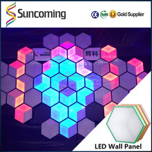Sunfrom new patent night club decoration 3D effect led disco bubble panel light