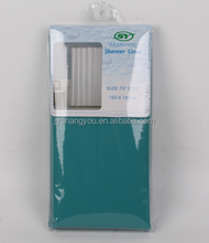 PEVA solid color shower curtains