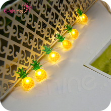Battery Operated LED String Lights Fruit Big Pineapple Shape LED Fairy Lights