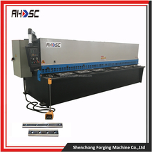 Swing Beam high performance new industrial plate guillotine hydraulic cnc shearing machine heavy equipment