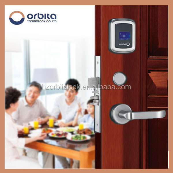 China Free Software rfid key M1 hotel NEW manage hotel system door lock