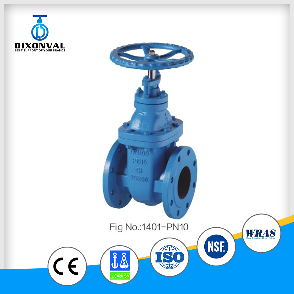 big size automatic stainless steel gate valve pn10