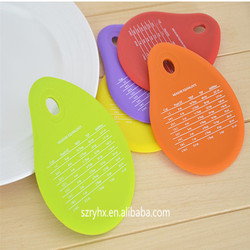 spatulart measurement conversion rubber silicone bowl scraper