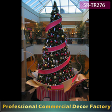 Commercial realistic steel frame Artificial 8m 10m 15m 20m outdoor giant christmas tree