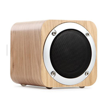 Classical Style BT Wooden Speaker,Mini Portable Real Wood Speaker For <strong>Mobile</strong> <strong>Phone</strong>,Outdoor Loudspeaker With Microphone