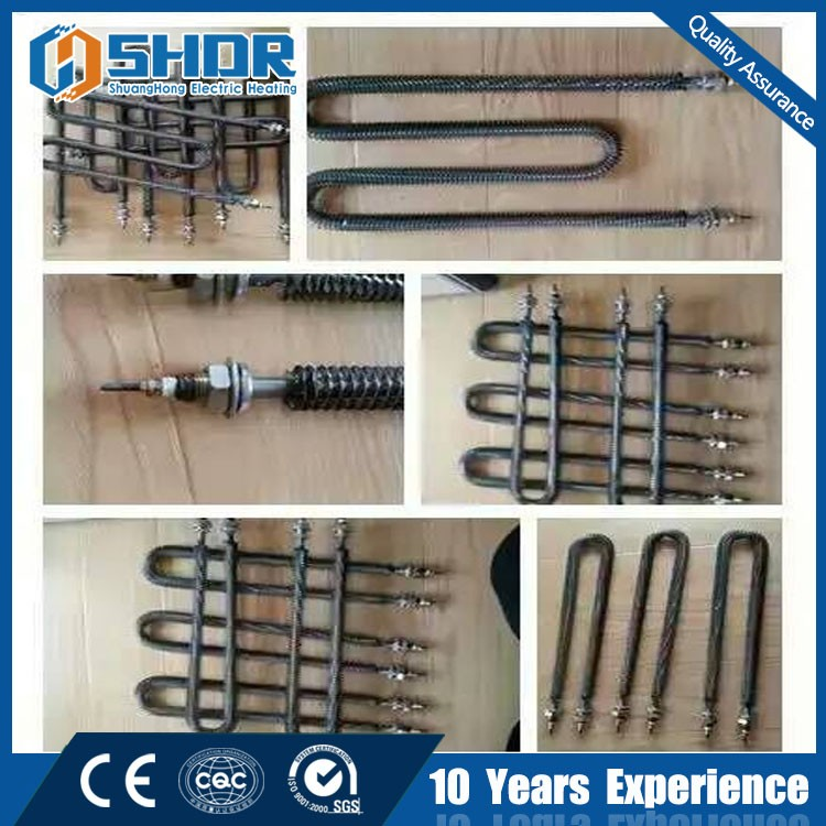 Stainless Steel finned heating element