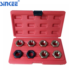 8 Pcs Axle Spindle Thread Renew Restoring Repair Tool Kit Set