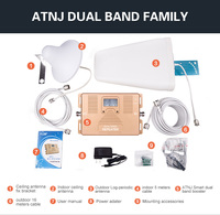 ATNJ brand promotion price1800/2100mhz cell phone dcs/LTE signal repeater