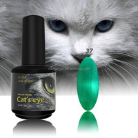 Factory OEM uv/led cat eye color gel nail polish