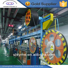 Alibaba best outdoor armored coating optical fiber cable making equipment