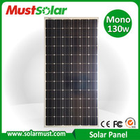 China Manufature High Efficiency 130w Mono Solar Panel
