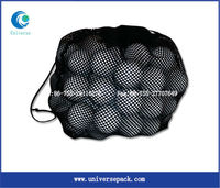 custom promotional wholesale mesh bag for golf ball