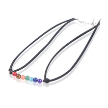 New products on china market Women Yoga Reiki Healing Balancing natural stone jewelry latest design beads necklace