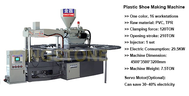 Plastic Shoes/Sandals/Slippers/Boots Making Machine