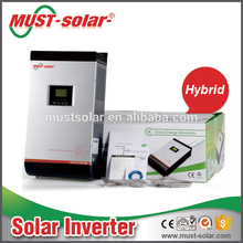 hybrid solar inverter 1000kw with optional AC/SOLAR input priority via LCD setting Function