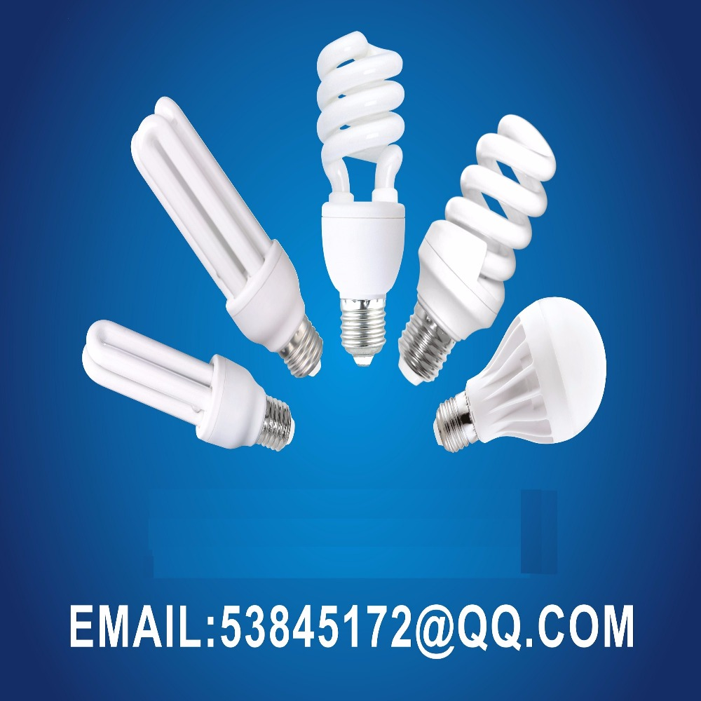 halogen powder saver lamps 2u phase energy saving bulbs 3 phase lights compact Fluorescent lamp Pin/E27/B22