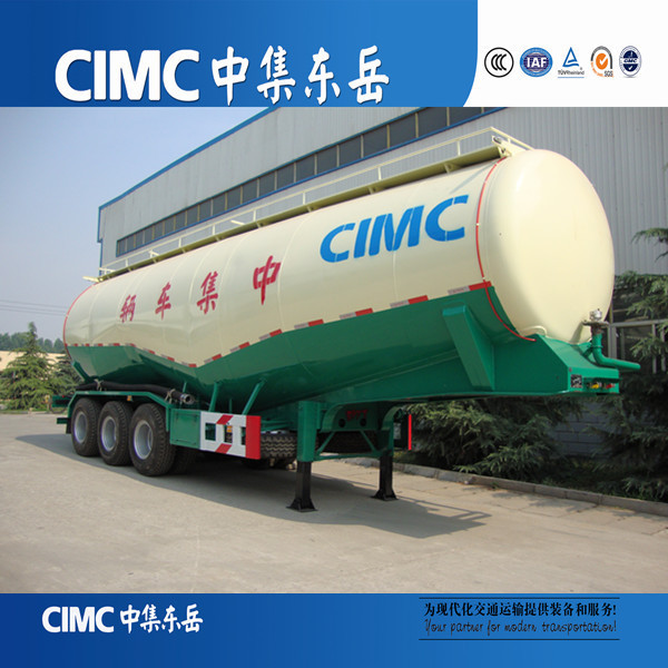 CIMC Mineral Flour Transports Trailers, Bulk Powder Delivery Tanker Truck Trailers