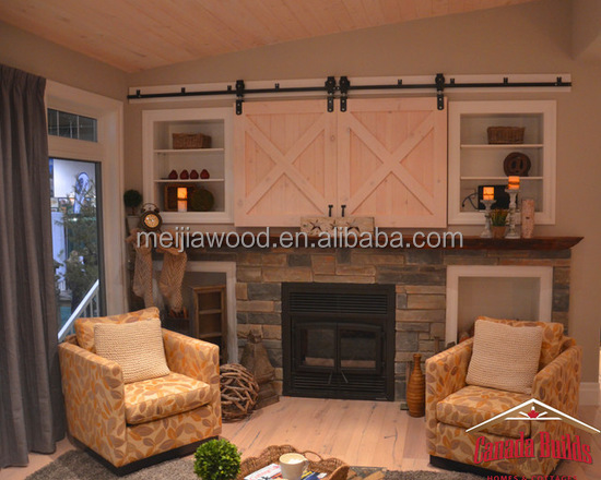 decorative multi role sliding wood barn doors for bedroom