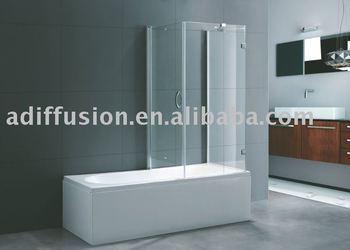 shower bathtub combinations screen corner bath shower combo NS700