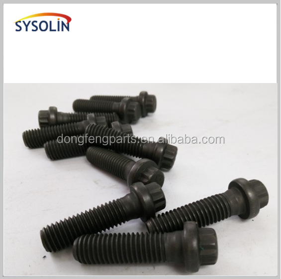 Auto engine spare parts stainless steel bolt 3903834 cylinder head screw
