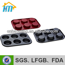 nonstick ceramic coating carbon steel muffin pan