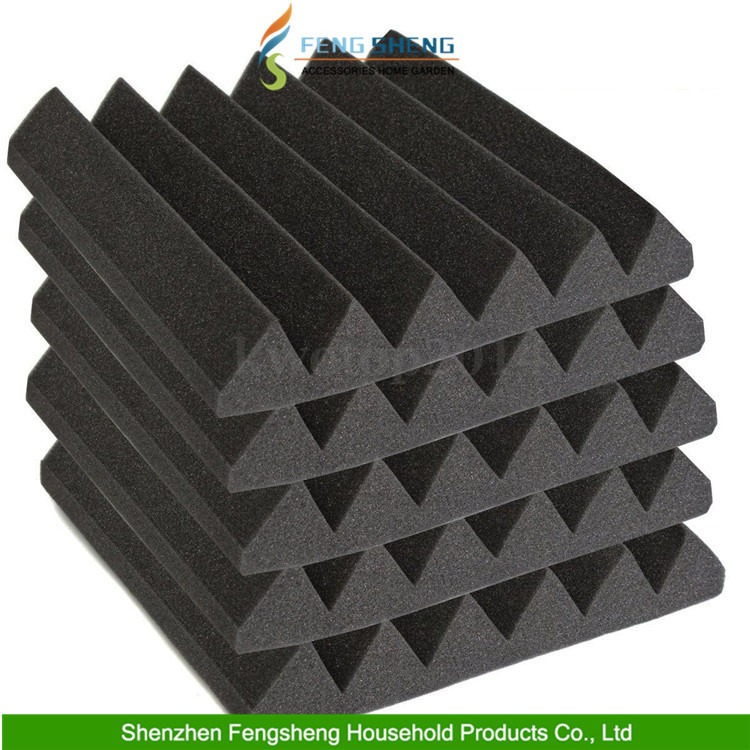 Soundproof material triangular groove studio absorption for Soundproof foam