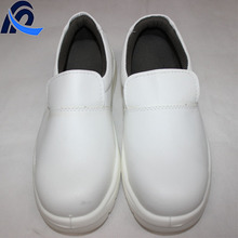 White PU Leather ESD Anti-smashing Protective Safety Shoes Bulk on Sale