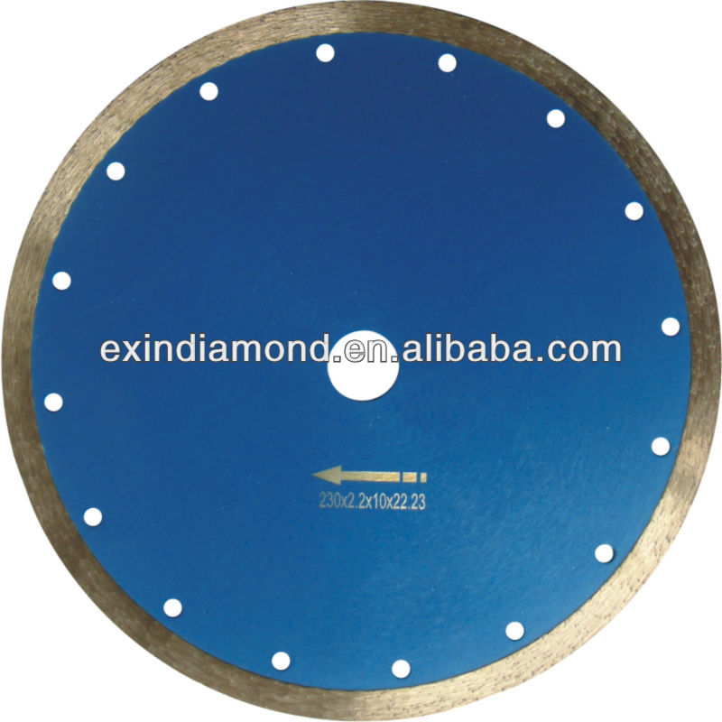 Small dry cutting Diamond Saw Blade For Stone Cutting