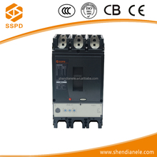 Wenzhou SSPD best brand manufacturer approved solar power NSX 3P 400N 400A 50kA types of electrical circuit breaker switch